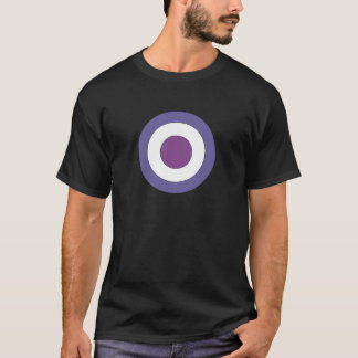 Purple Bulls-eye T-Shirt