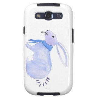 Purple Bunny In A Blue Scarf Samsung Galaxy SIII Case