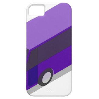 Purple Bus iPhone 5 Cover