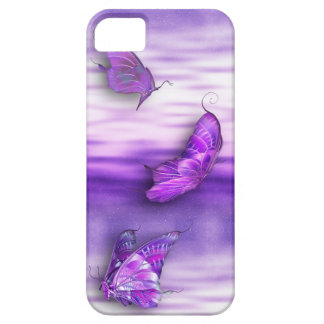 Purple Butterflies iPhone4 iPhone 5 Case