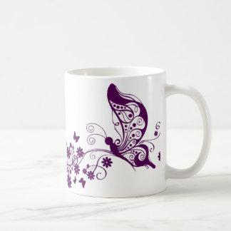 Purple Butterflies Mug