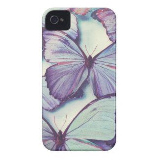 Purple Butterfly Case