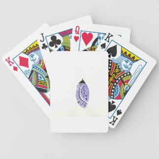 Purple Butterfly Cocoon Poker Deck