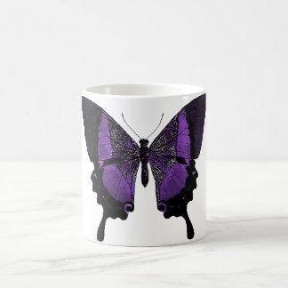 Purple Butterfly Coffee Mug