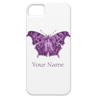 Purple Butterfly, Curiosities Case For The iPhone 5