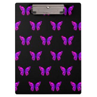 Purple Butterflys Clipboard