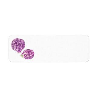 purple cabbage graphic
