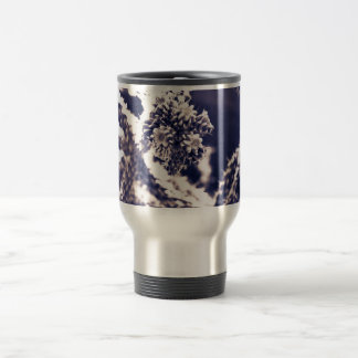 Purple Cactus Travel Mug