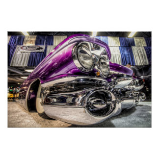 Purple Caddy Poster