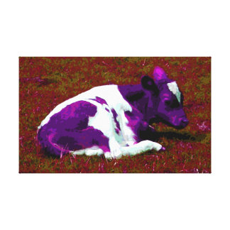 Purple Calf wall art