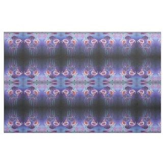 Purple Callas Fabric