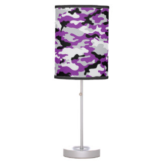 Purple CAMO Camouflage Lamp