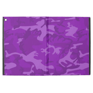 "Purple Camo iPad Pro 12.9"" Case"