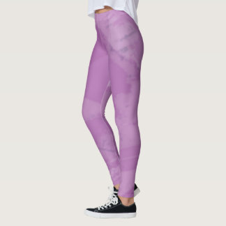 Purple Camo Leggings