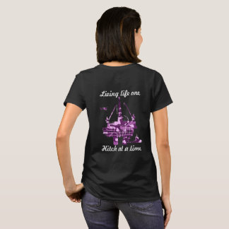 Purple Camo, offshore rig T-Shirt