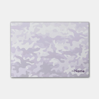 Purple Camo Post-it Notes