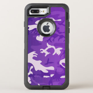 Purple Camouflage OtterBox Defender iPhone 8 Plus/7 Plus Case