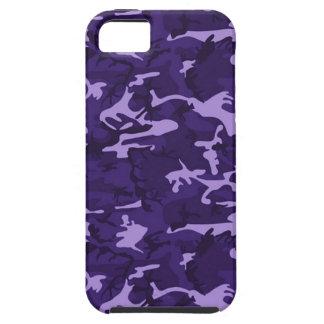Purple Camouflage Pattern Apple iPhone 5 Case