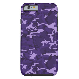 Purple Camouflage Pattern iPhone 6 Case