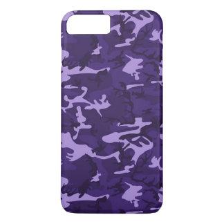 Purple Camouflage Pattern iPhone 7 Plus Case