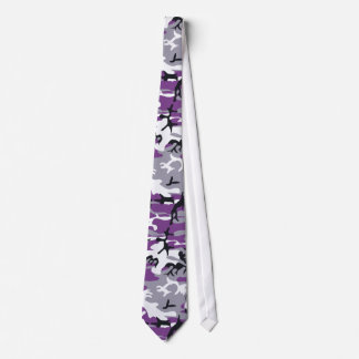 Purple Camouflage Tie