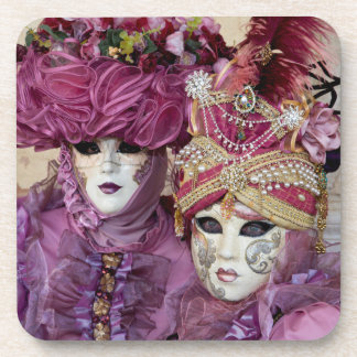 Purple Carnival costume, Venice Drink Coaster