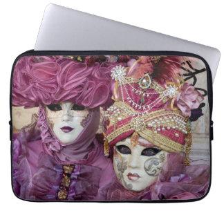 Purple Carnival costume, Venice Laptop Sleeve