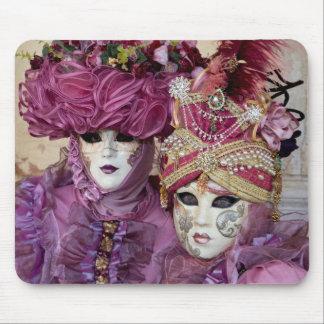 Purple Carnival costume, Venice Mouse Pad