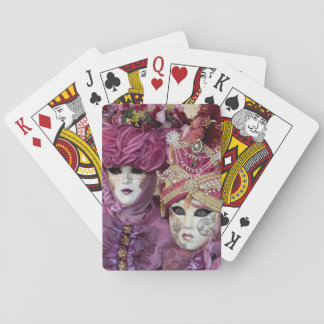 Purple Carnival costume, Venice Playing Cards