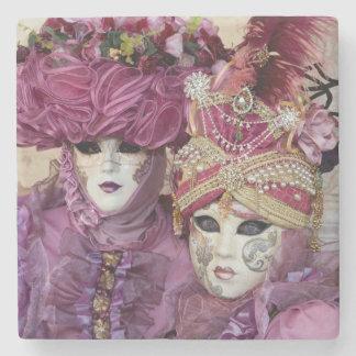 Purple Carnival costume, Venice Stone Coaster