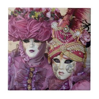 Purple Carnival costume, Venice Tile