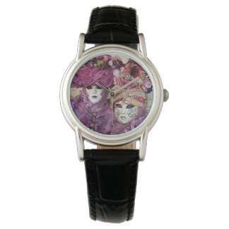 Purple Carnival costume, Venice Watch