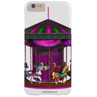 Purple Carousel Barely There iPhone 6 Plus Case
