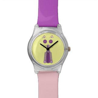 Purple CAT Wristwatch