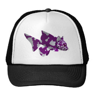 Purple Catfish Trucker Hat