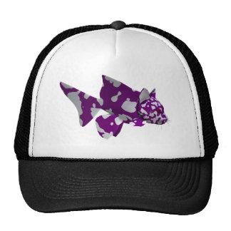 Purple Catfish Trucker Hat