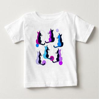 Purple cats baby T-Shirt