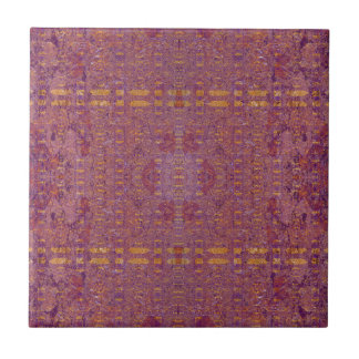 purple ceramic tile