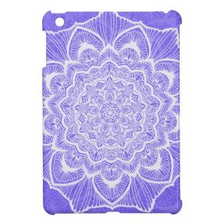 Purple Chakra Blossom, boho, new age, spiritual Cover For The iPad Mini