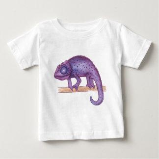 Purple Chameleon Baby T-Shirt