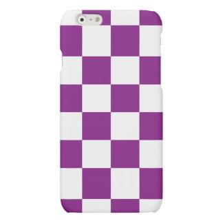 Purple Checkered