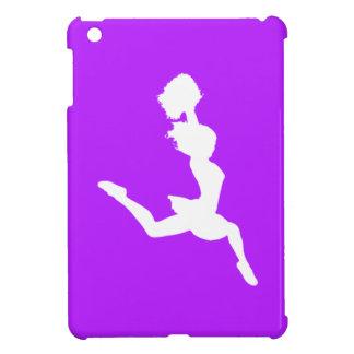 Purple Cheer Silhouette iPad Mini Case