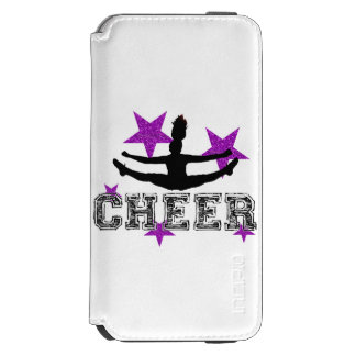 Purple Cheerleader Incipio Watson™ iPhone 6 Wallet Case