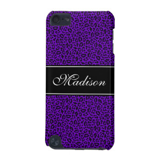 Purple Cheetah Customizable 5G iPod Touch Case