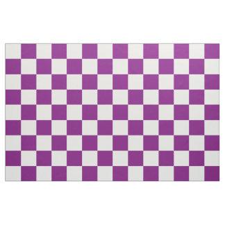 Purple Chequered Fabric