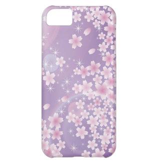 Purple Cherry Blossom iPhone 5 Case