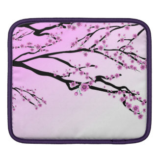 Purple Cherry Blossom Sakura iPad Sleeve