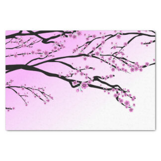 Purple Cherry Blossom Sakura Tissue Paper