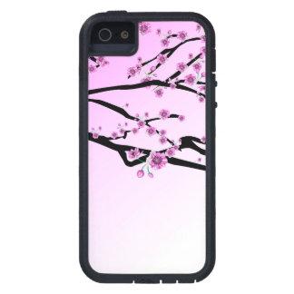 Purple Cherry Flower Sakura iPhone 5 Covers