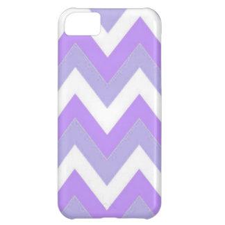 Purple Chevron iPhone 5C Phone Case